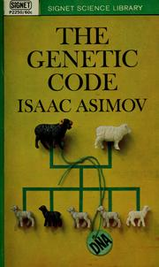 Cover of: The Genetic Code