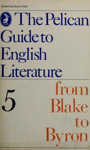 Cover of: The Pelican guide to English literature
