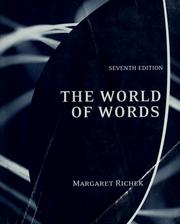 Cover of: The world of words