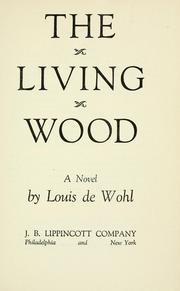 Cover of: The living wood