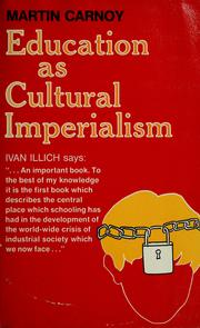 Cover of: Education as cultural imperialism
