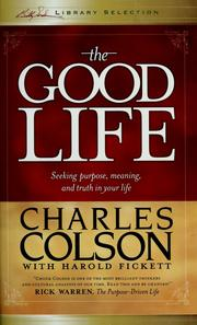 Cover of: The good life