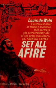 Cover of: Set all afire