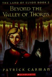 Cover of: Beyond the valley of thorns
