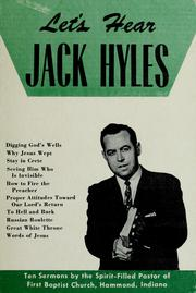 Cover of: Let's hear Jack Hyles