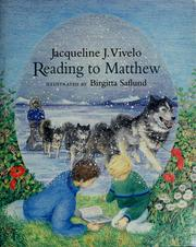 Cover of: Reading to Matthew