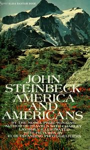 Cover of: America and Americans