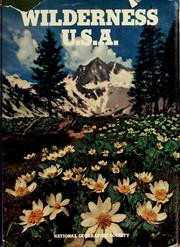 Cover of: Wilderness U.S.A.