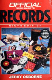 Cover of: The official price guide to records