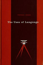 Cover of: The uses of language