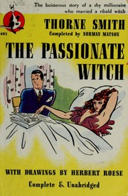 Cover of: The passionate witch