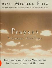 Cover of: Prayers
