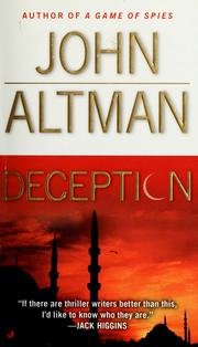 Cover of: Deception