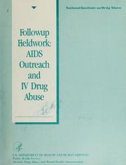 Cover of: Followup fieldwork