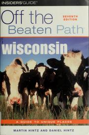 Cover of: Wisconsin
