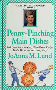 Cover of: Penny-pinching main dishes
