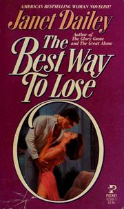 Cover of: The best way to lose