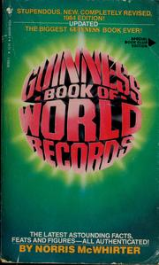 Cover of: Guinness 1984 book of world records