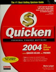 Cover of: Quicken 2004