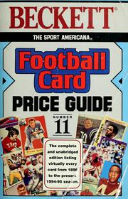 Cover of: Football card price guide