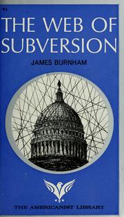 Cover of: The web of subversion