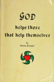 Cover of: God helps those that help themselves