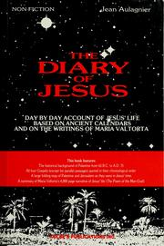 Cover of: The diary of Jesus