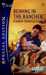 Cover of: Reining In The Rancher