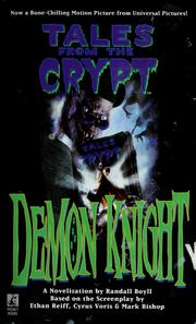 Cover of: Demon Knight: A Novelization