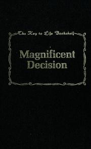 Cover of: Magnificent decision