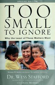 Cover of: Too small to ignore
