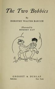 Cover of: The two Bobbies