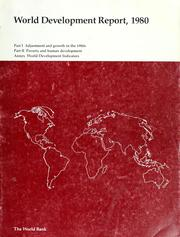 Cover of: Adjustment and growth in the 1980s