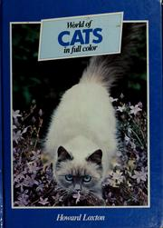 Cover of: World of cats