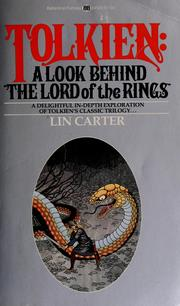 Cover of: Tolkien: a look behind 'The lord of the rings'