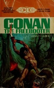 Cover of: Conan the freebooter