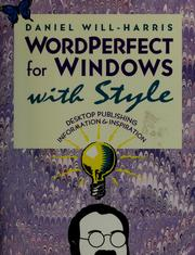 Cover of: WordPerfect for Windows with style