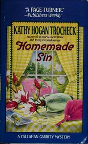 Cover of: Homemade sin