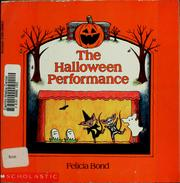 Cover of: The Halloween performance