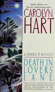 Cover of: Death in lovers' lane