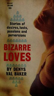 Cover of: Bizarre loves