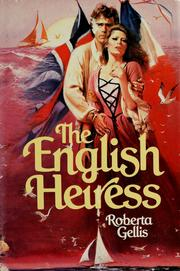 Cover of: The English heiress