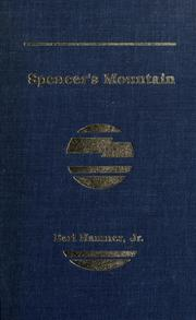 Cover of: Spencer's Mountain