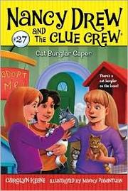 Cover of: Cat Burgler Caper: Nancy Drew and the Clue Crew # 27