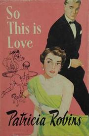 Cover of: So This is Love