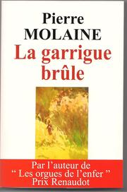 Cover of: La garrigue brûle