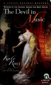 Cover of: The devil in music