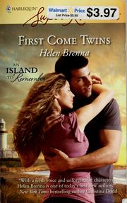 Cover of: First come twins
