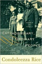 Cover of: Extraordinary, Ordinary People