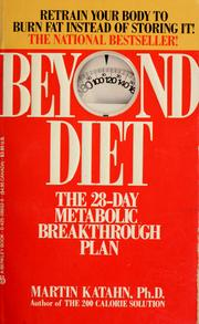 Cover of: Beyond diet
